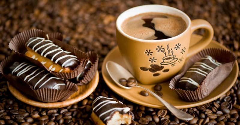 leche de soya con café